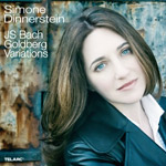 Simone Dinnerstein, Goldberg Variations album cover