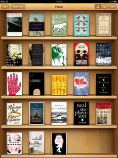 Recently read iBooks