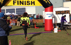 Equinox Marathon finish