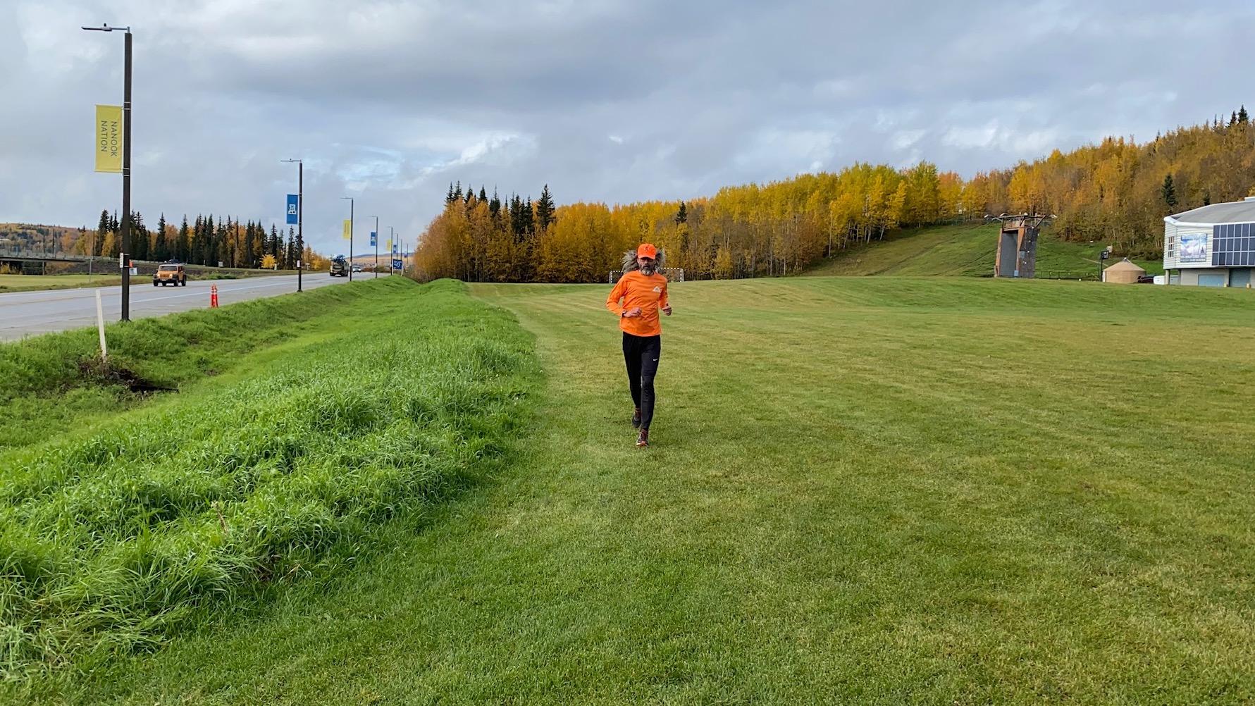 Equinox Marathon, 2020 finish