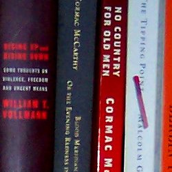 books closeup