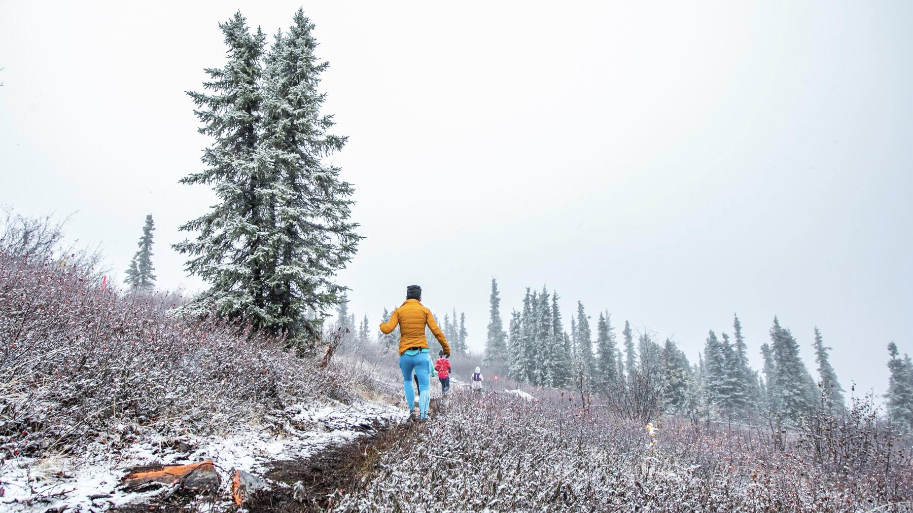 Conditions on Ester Dome during the 2019 Equinox Marathon